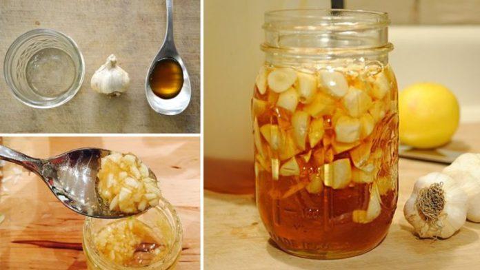 Benefits of garlic and honey