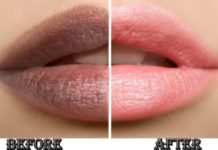 How to get pink lips fast permanently